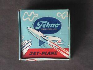 VINTAGE TEKNO SUPER SABRE JET FIGHTER # 787 MINT ORIGINAL BOX