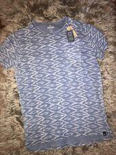 Mens American Eagle Indigo Blue Tee size Large NWT retail $24.99