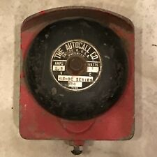 Vintage Metal Autocall  Station Fire Alarm Bell old Call Box non gamewell