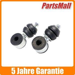 2x Koppelstange Stabistange vorne für VW Golf 1 Cabrio 2 links rechts 30654898