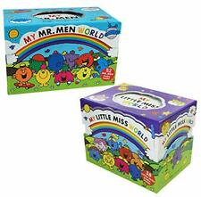My Mr Men and Little Miss World 90 Books Box Set Collection by Roger Hargreaves