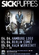 Sick Puppies - 2009-TOUR MANIFESTO-IN CONCERT-Tri Polar-TOUR Poster