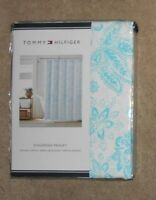 Nip Tommy Hilfiger Shower Curtain Mission Paisley Ebay