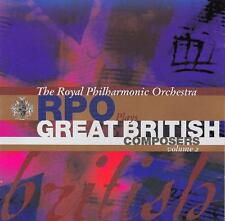 The Royal Philharmonic Orchestra : Great British Composers. Vol. 2 (NEW CD)