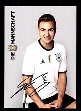 Mario Götze DFB Autogrammkarte Europameisterschaft 2016   +A 132313 D