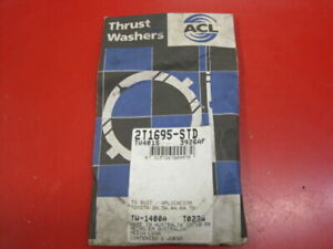 New ACL crankshaft thrust washer set Toyota 4A-GE 4A-GZE 16V 20V AE86 AW11 MR2