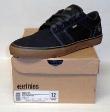 Etnies Mens Barge Ls Black Charcoal Gum Shoes Size 12 IS