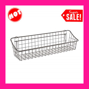 """Pegboard Wall Mount Basket 16"""" Great for Kitchen Bath Laundry Room Garage"""