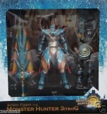 New Capcom MONSTER HUNTER 3G Limited Lagiacrus Armor & Weapons From Japan