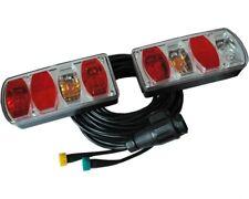 Rückleuchten-Set für Anhänger - Heckleuchten 5m 13-poligen Kabel mit Abzweigung