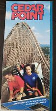 1994 Cedar Point Amusement Theme Park Brochure Map Pamphlet