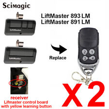 Chamberlain 950ESTD COMPATIBLE 891LM Garage Door Opener Remote Security+ 2.0 MyQ