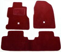 Ep3 Red Type-r Carpet Set Floor Mats 3 Pc for LHD 01-05 Honda Civic