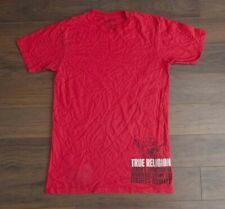 True Religion T Shirt Buddha Logo Red Size XL *F0629252