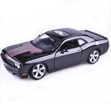 1:24 Dodge Challenger SRT8 Assembly Kit Diy Metal Model Car Toy Black New in Box