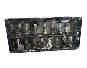 Little Big Heads Universal Studios Monsters Silver Screen Ed. 2000 Box Set-NEW