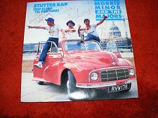 "Morris Minor  & The Majors (Tony Hawks) 1987  7"" Vinyl  Stutter Rap  Autographed"