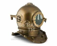 "Rare Vintage Antique 18"" Diving Divers Helmet Deep Sea Anchor Engineering 1921"