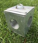 Vintage CRICKET BOX / CAGE - Large, Aluminum, Handmade