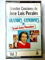 Jose Luis Perales Grandes canciones VOl 2 Cinta Cassette 1983 Hispavox
