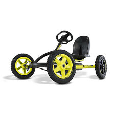 Berg Buddy Cross Kids Pedal Go Kart Ride On Toy, Black & Yellow (For Parts)