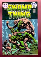 SWAMP THING #10 (DC/June 1974/last Berni Wrightson issue) NM