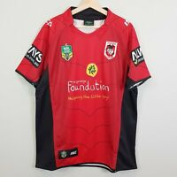 ST GEORGE - ILLAWARRA Dragons ISC Mens Size 2XL 2014 NRL Charity Shield Jersey