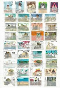 PORTUGAL - LOT OF 125 STAMPS -  3 IMAGES