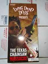 Living Dead Dolls Leatherface 1974 Texas Chainsaw Massacre !New Mib!
