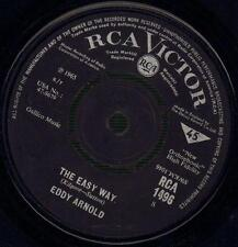 "Eddy Arnold(7"" Vinyl)The Easy Way / Make The World Go Away-RCA-RCA 1496-VG/VG"