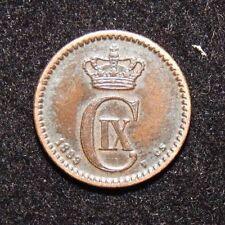 DENMARK, 1889 1 ORE.