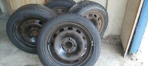 Ford fiesta. 15 inch 4 stud.Tyres and wheels.