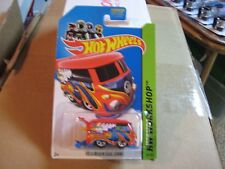2014 Hot Wheels HW Workshop Volkswagen Kool Kombi Red MONMC
