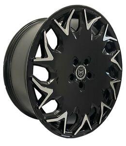4 Wheels GV06 20 inch Gloss Black Rims fits NISSAN MAXIMA SL 2004 - 2008