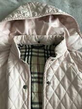 Girls Burberry Coat Age 10 Good