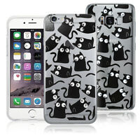 Stylish Black Cat animal Googly Eyes Phone case, cover, Skin for apple iphone