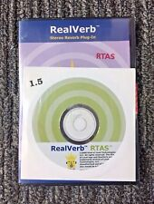 Kind of Loud RealVerb Stereo Reverb Plug-In 1.5 - 2000, RTAS, Pro Tools