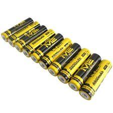 10x Original M2 Tec 18650 Hochleistung Li-ion Akku 8800mAh 11,8Wh 3,7V 66x18mm