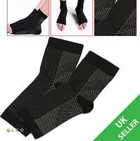 COMPRESSION SOCKS FOOT ANGEL ANKLE SWELLING PLANTAR FASCIITIS HEEL PAIN RELIEF