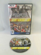 PC DVD-Rom - Medieval Total War Gold Edition Expansion Pack Viking Invasion