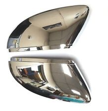 VW PASSAT CC, JETTA, BEETLE CHROME DOOR WING MIRROR COVERS PAIR LEFT AND RIGHT