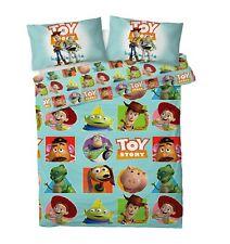 Toy Story Double Duvet Quilt Cover Set 'Patch' Disney Kids Children's Bedding