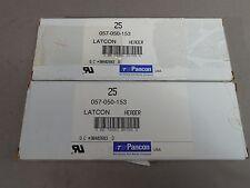 50pc Pancon 057-050-153 50-Pin 057 Series Low Profile Box Male Header Straight