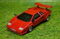 LAMBORGHINI COUNTACH LP500 1:43 Scale Model Toy Car Miniature Diecast Red LP 500
