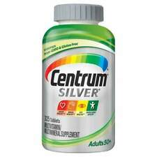 Centrum Silver Adults 50+ Multivitamin, 325 Tablets Men&Women Free Shipping!