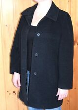 Mint! Collection by Gallery WOMENS Wool COAT JACKET Size M Medium- Black