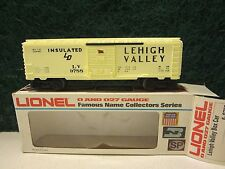 Lionel 9788 Lehigh Valley Box Car - Yellow Cream Color Decal Flag Door