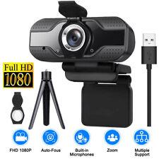 Full HD 1080P Webcam Kamera USB 2.0 Mit Mikrofon für Computer PC Laptop Notebook