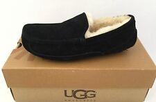 UGG Australia ASCOT SUEDE Slippers Men US8 fits Women US9 $120 #5375 Black