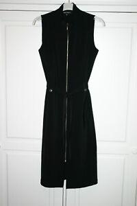 Robe Femme Sans Manches Emma Pernelle Noire Taille 38